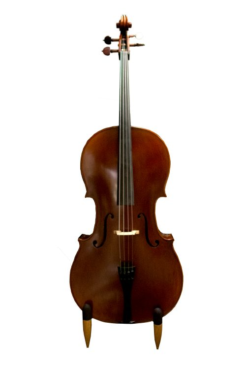 Vienna Strings Hamburg Cello with Rose Pegs Carbon Tuners