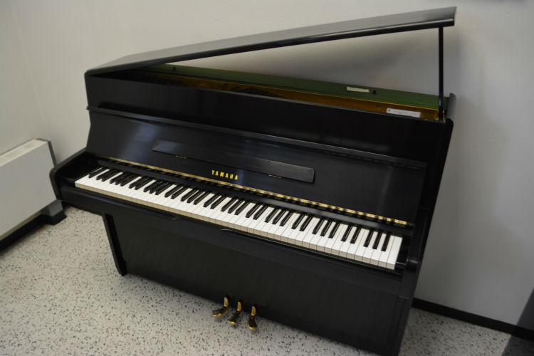 Yamaha Upright Studio Piano Ebony Satin Finish
