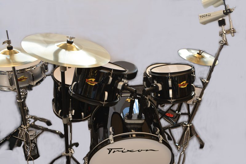 Trixon 5 Piece Drum Set - Black