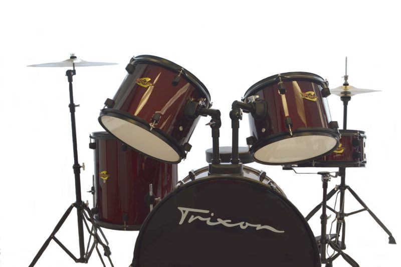 Trixion Luxus 100 5pc Drum Set Wine Red