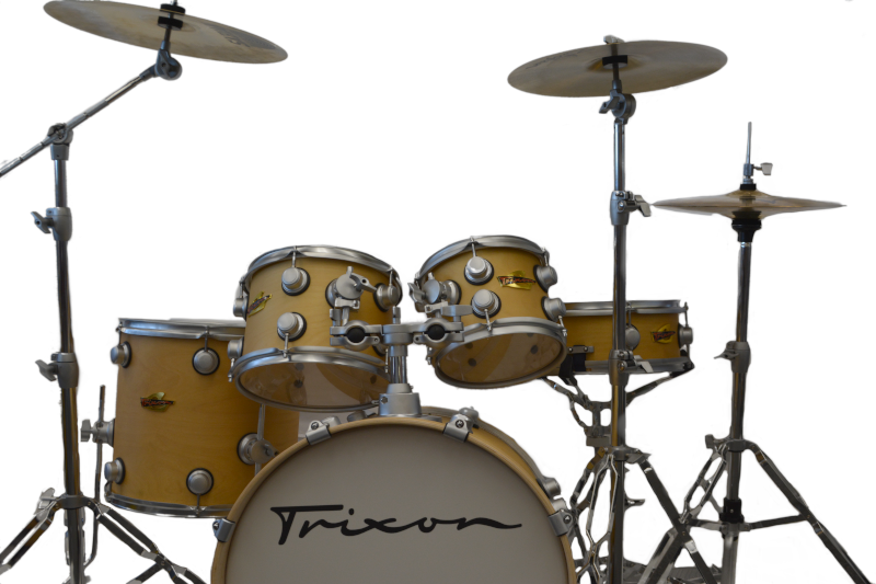 Trixon 5pc Volta Drum Set Natural