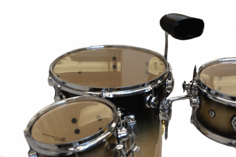Trixon Elite Cocktail Drumset Natural Gray Fade
