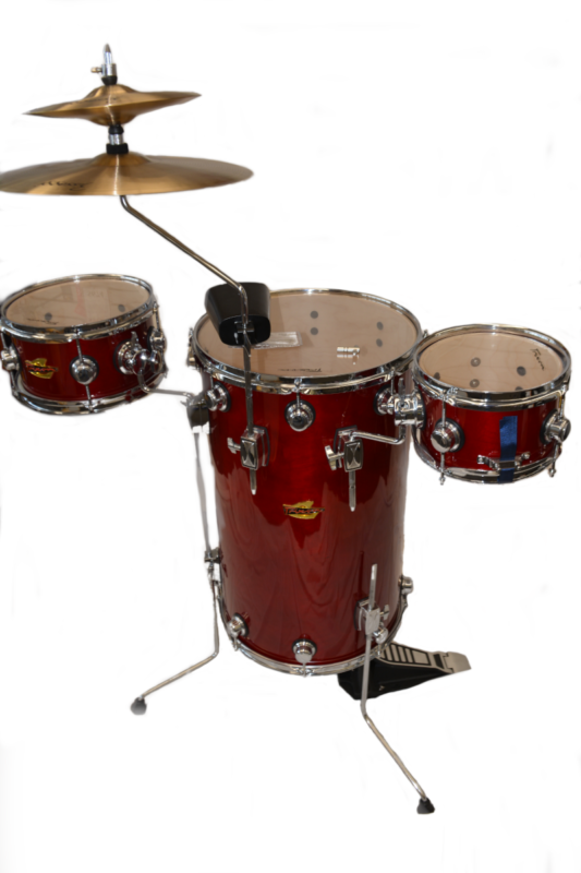 Trixon Elite Cocktal Drumset Bing Cherry Red
