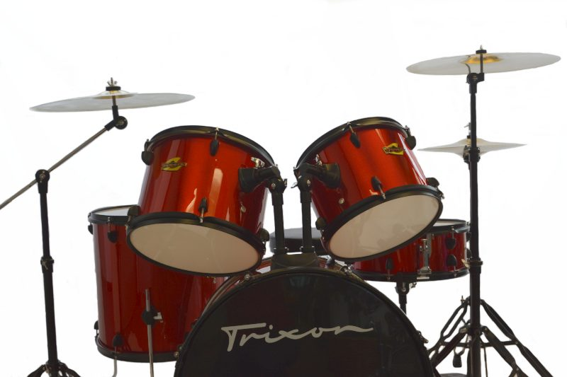 Trixon Luxus 100 5 Piece Drum Set - Red Sparkle