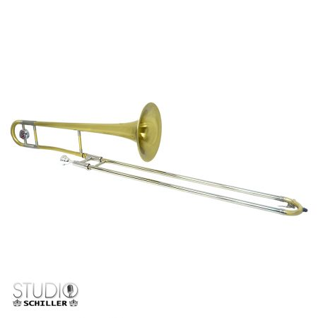Schiller Studio Tenor Trombone - Brushed Gold
