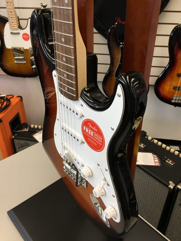Squier Affinity Series Telecaster Electric Guitar Brown Sunburst