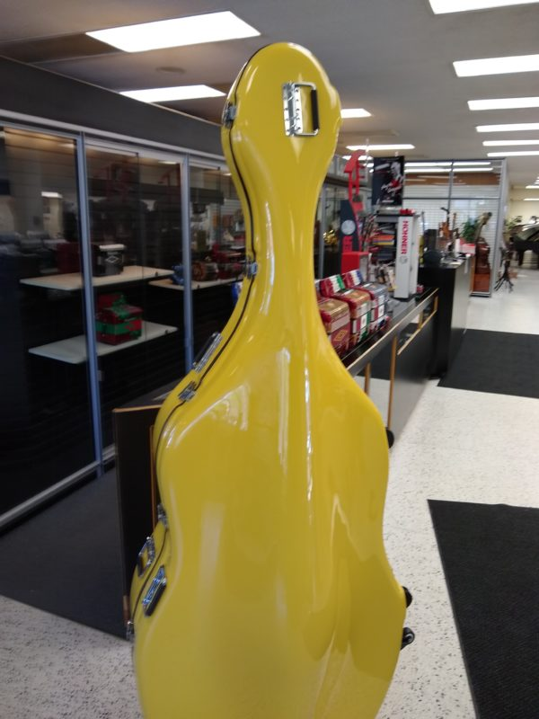 Enthral II Mustard Yellow Polish Bass Case (Used)