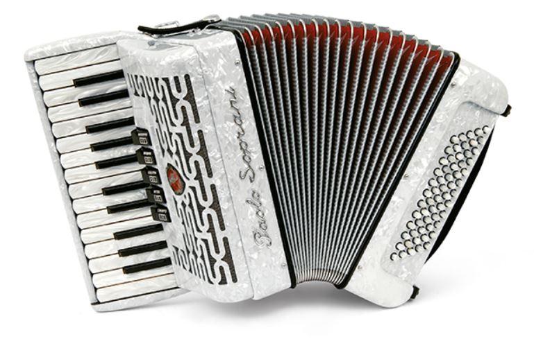Paolo Soprani Professionale 60 Bass Piano Accordion