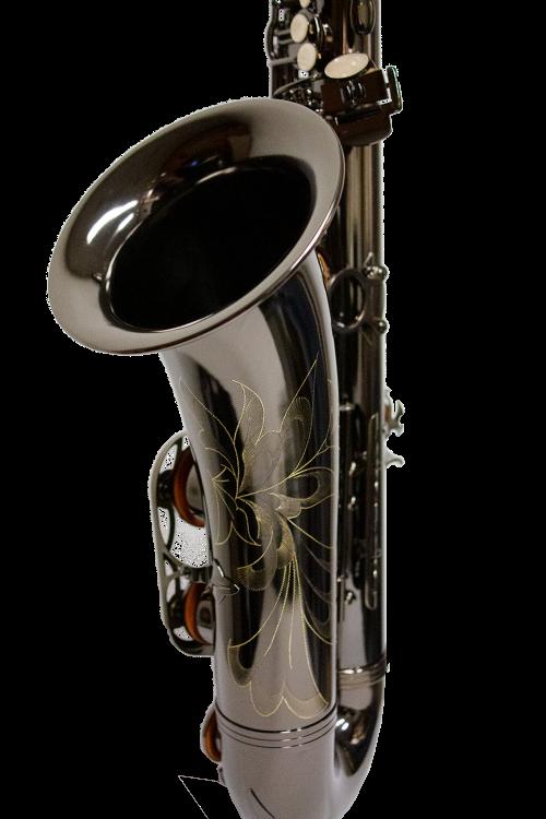 Schiller American Heritage 400 Tenor Saxophone - Black Nickel/Black Nickel Keys