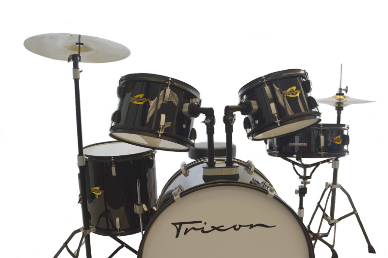 Trixon 5pc Luxus 200 Drum Set Black