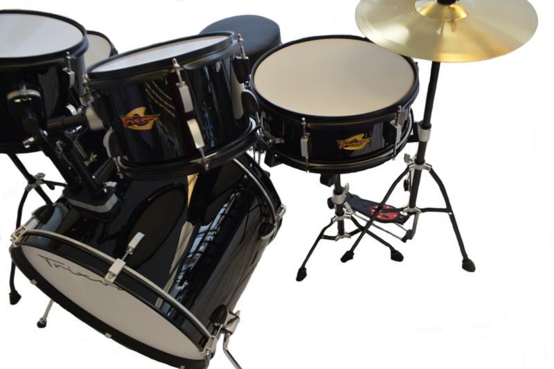 Trixon 5pc Luxus 200 Drum Set Black