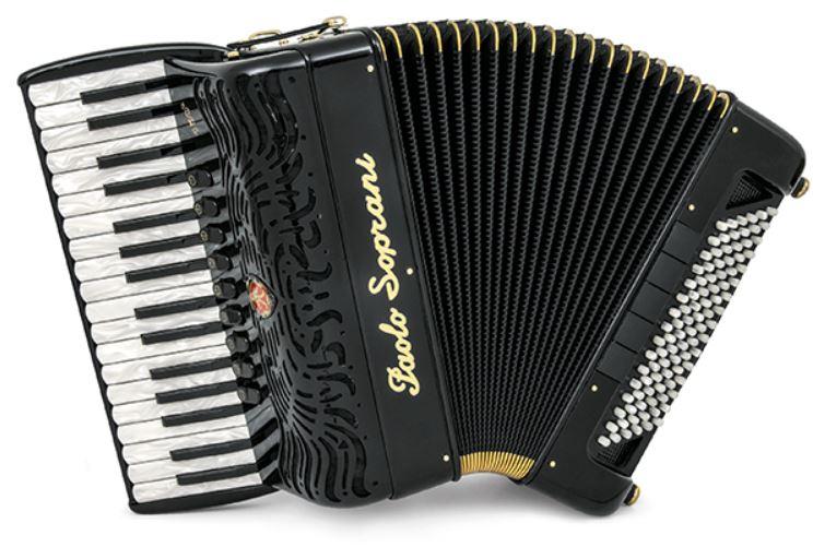 Paolo Soprani Super Paolo 96 Bass 34 Treble Piano Accordion