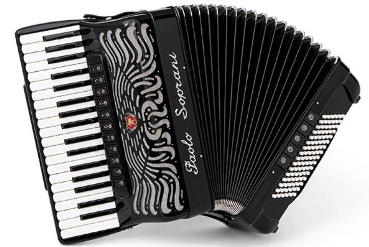 Paolo Soprani Super Paolo 96 Bass 37 Treble Piano Accordion