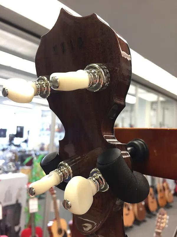Deering Sierra Limited Edition Deluxe 5-String Banjo Natural Mahogany