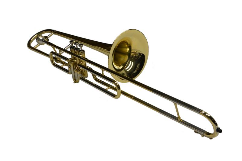 Schiller American Heritage Bb Valve Trombone - Gold