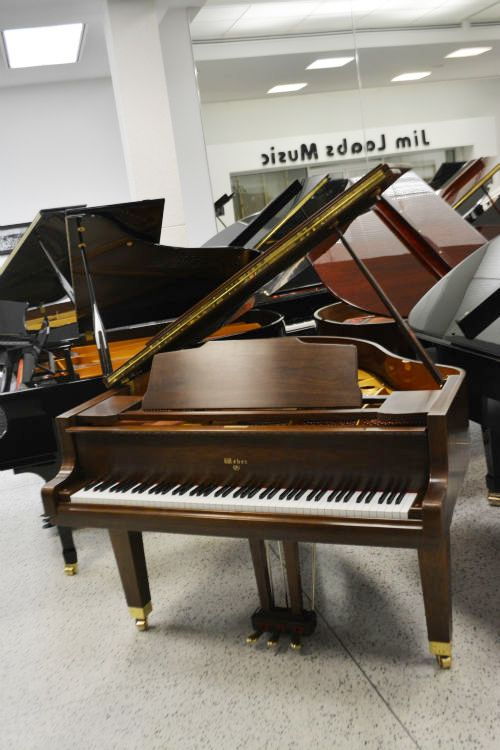 Weber Grand Piano Walnut Satin