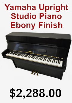 Yamaha Upright Studio Piano on sale for 2,288.00