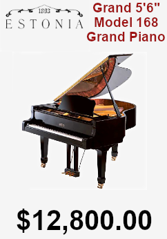 Estonia Grand Piano 5ft 6in Model 168 on sale for $16,800