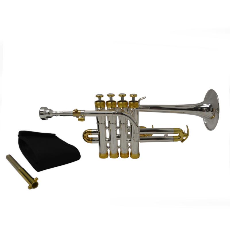 Schiller Studio Elite Piccolo Trumpet Silver & Gold