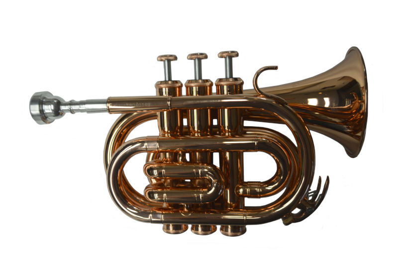 Schiller American Heritage Pocket Pro Copper Trumpet