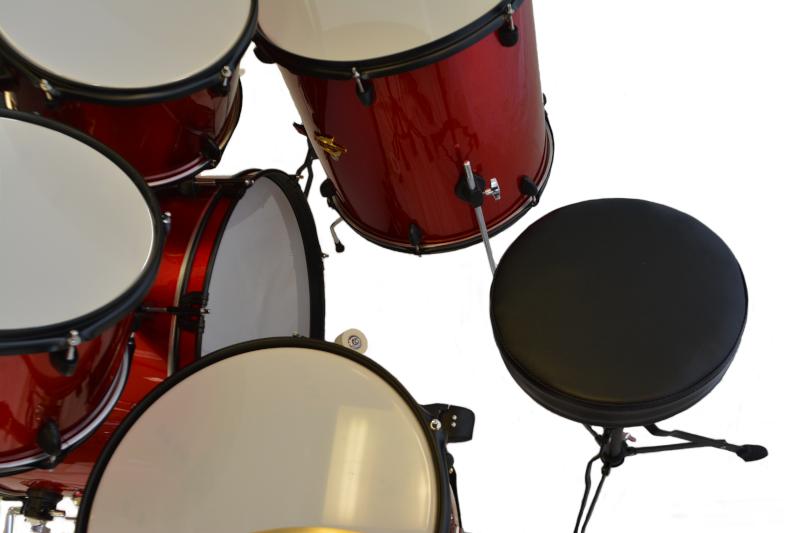 Trixon Luxus 100 5 Piece Drum Set - Red Sparkle