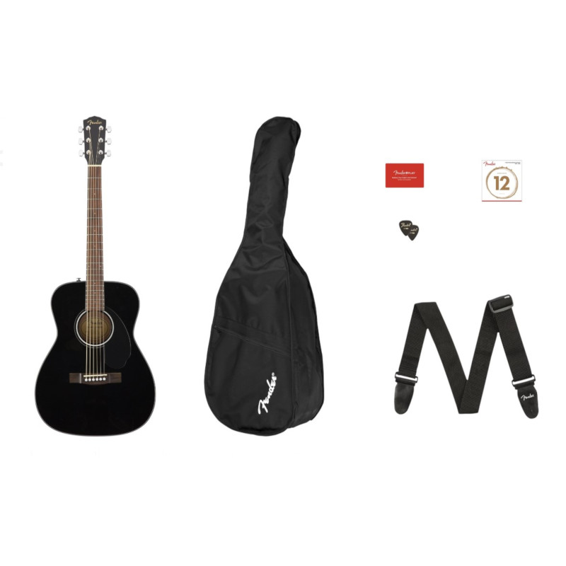 Fender CC-60S Concert Pack V2 - Black
