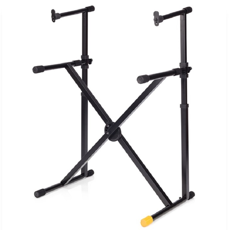 Hercules EZ-Lok Double Tier X-Keyboard Stand