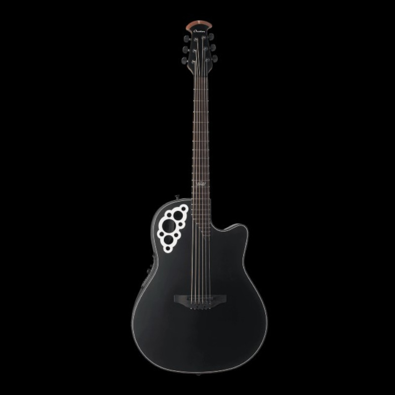 Ovation Signature Collection Kaki King Deep Contour Black Satin