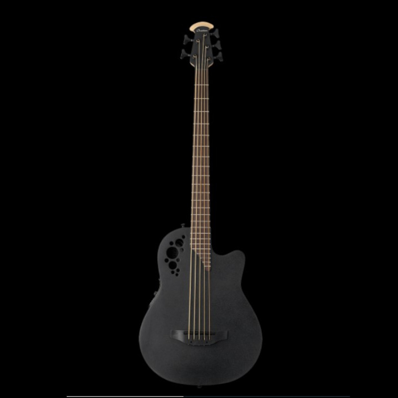 Ovation The Mod TX Collection Mod TX 5-String Bass Mid Depth Black Textured