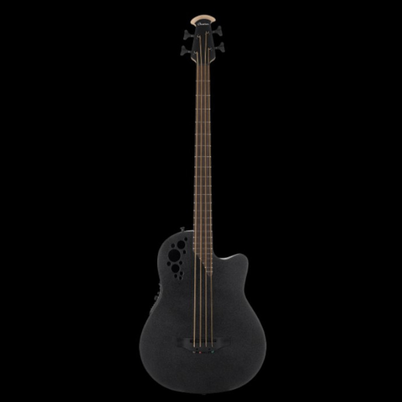 Ovation The Mod TX Collection Mod TX 4-String Bass Mid Depth Black Textured