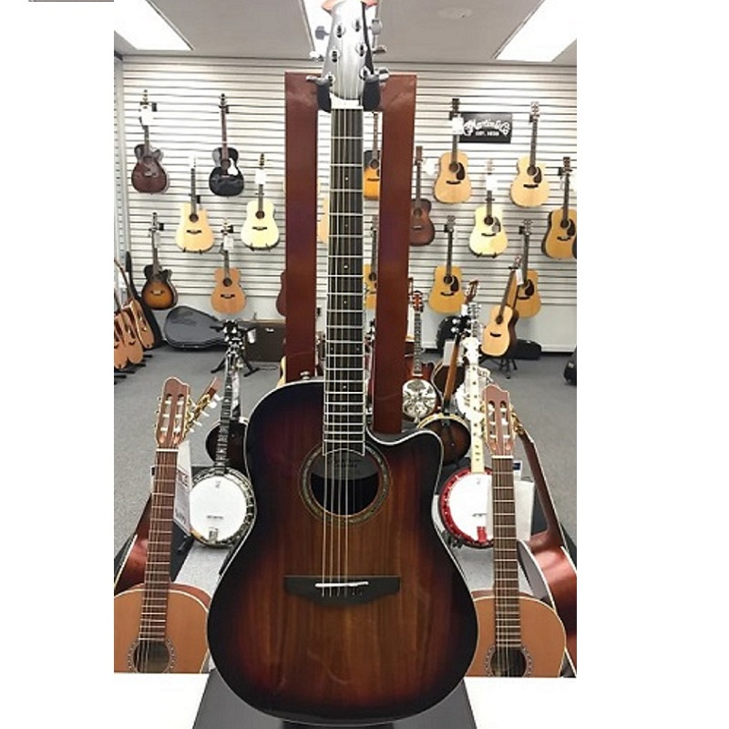 Ovation The Celebrity® Collection Celebrity Standard® Exotic Super Shallow Dark Burst On Exotic Koa