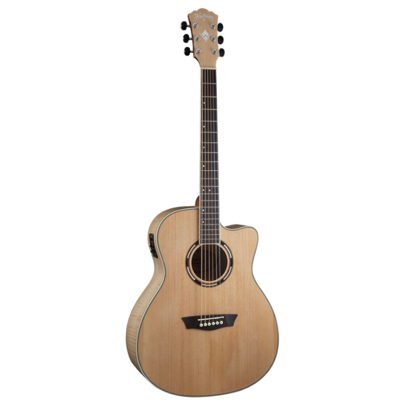 Washburn AG40CEK-A Apprentice Series Acoustic Electric Guitar
