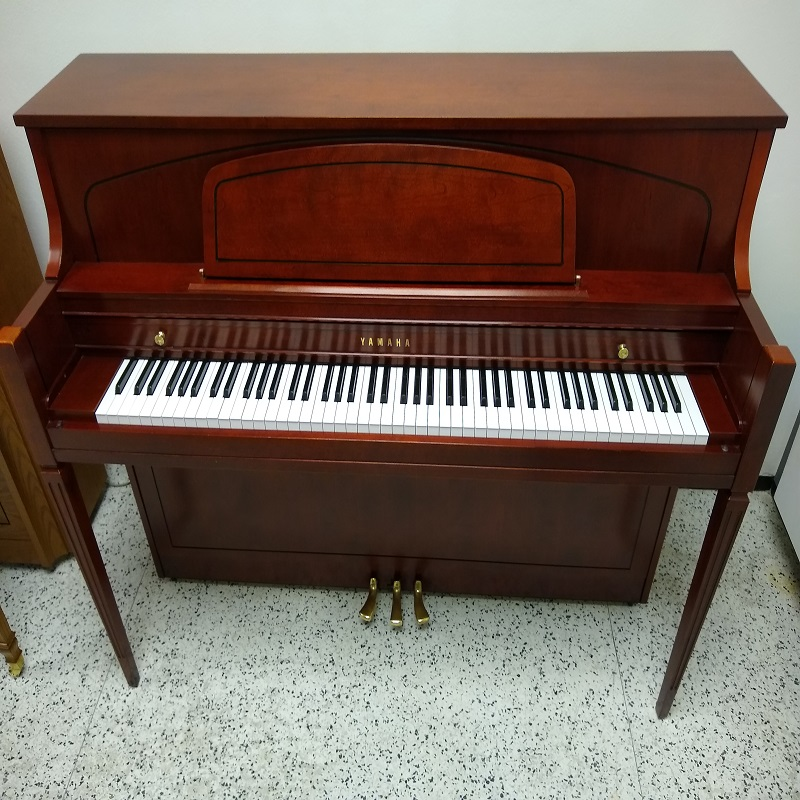 Yamaha 450 Model Console Piano - Hallmark Cherry Finish