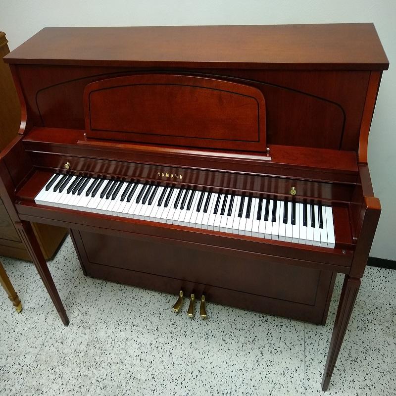 Yamaha 450 Model Console Piano - Hallmark Cherry Finish