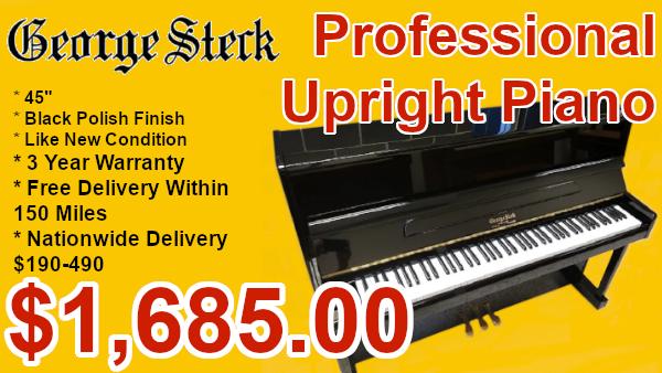 George steck professiona upright on sale
