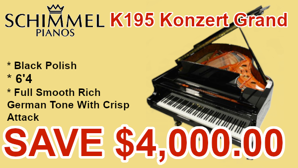 Schimmel k195 Grand on sale