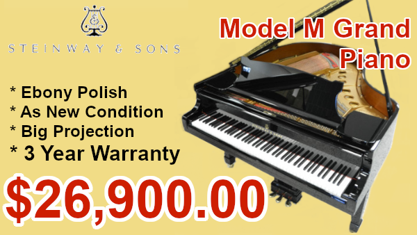 Steinway Model M Grand on sale