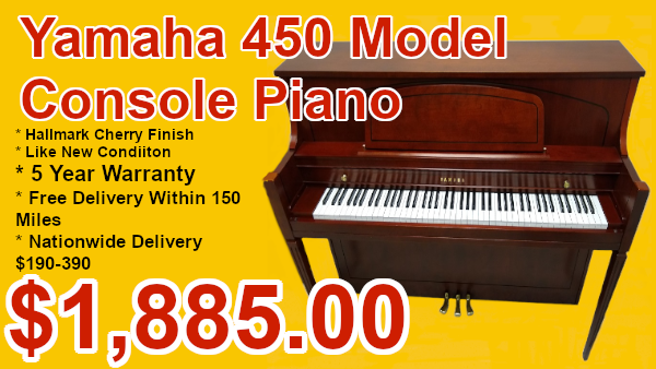 Yamaha 450 upright on sale