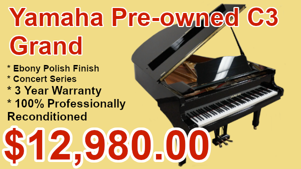Yamaha C3 piano on sale
