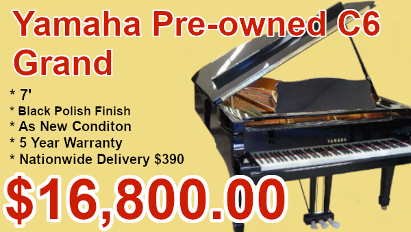 Yamahe C6 piano on sale