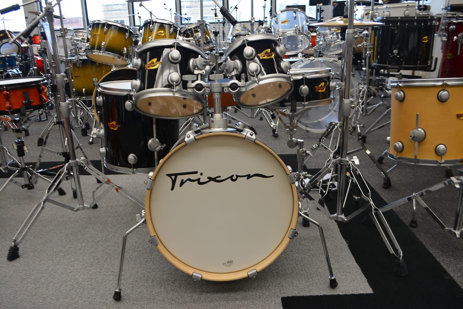 Trixon 5 Piece Volta Drum set Black Sparkle