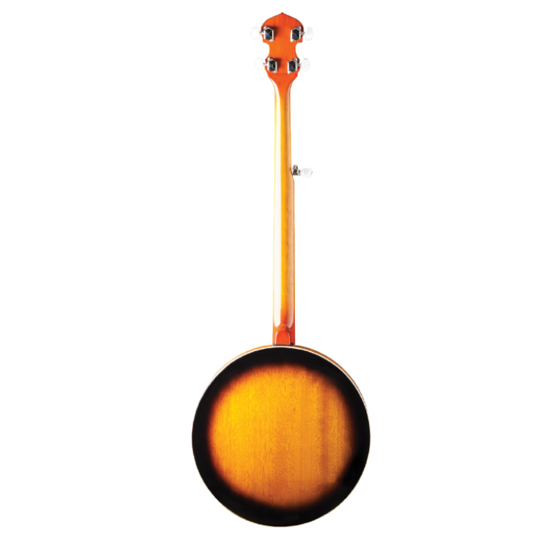 Washburn Americana Series B10-A 5-String Banjo. Gloss Sunburst