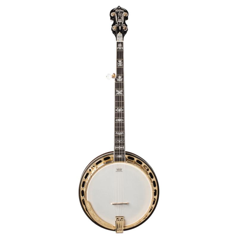 Washburn Americana Series B17K-D 5-String Banjo. Sunburst