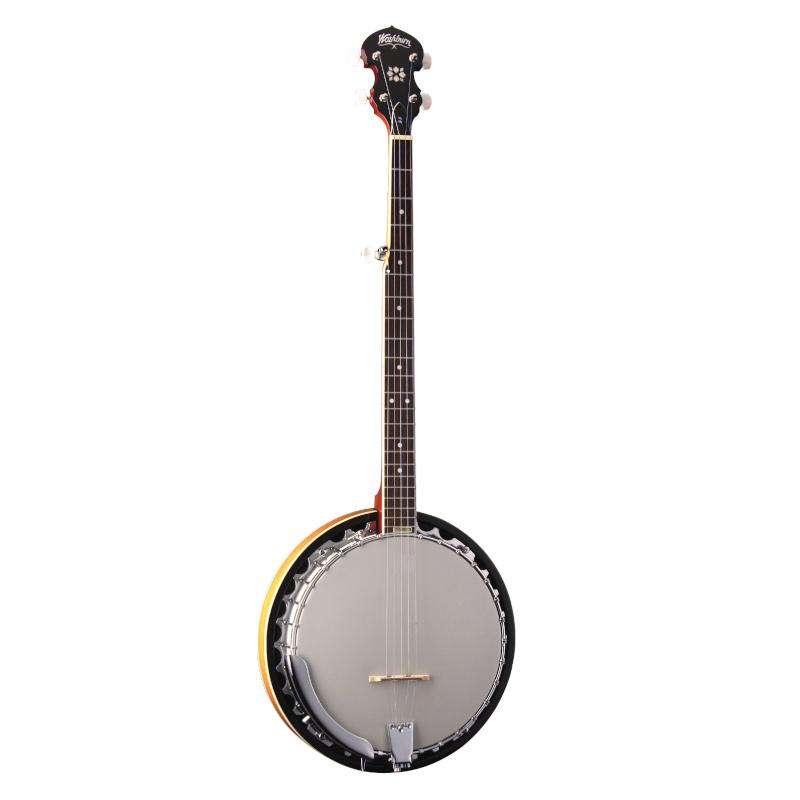 Washburn Americana Series B9-WSH-A 5-String Banjo. Natural
