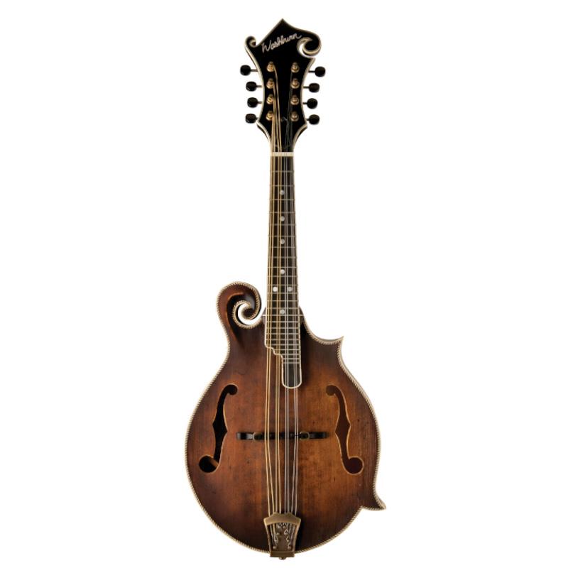 Washburn M118SWK-D Americana Series M118SW F Style Mandolin. Vintage Natural