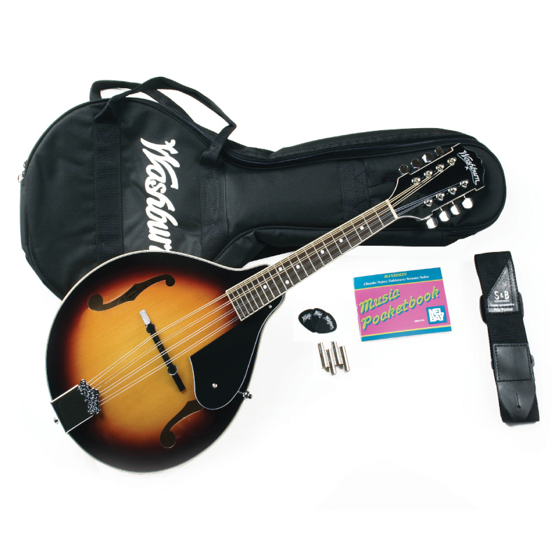 Washburn M1K-A Americana Series M1-PACK Mandolin Pack. Sunburst