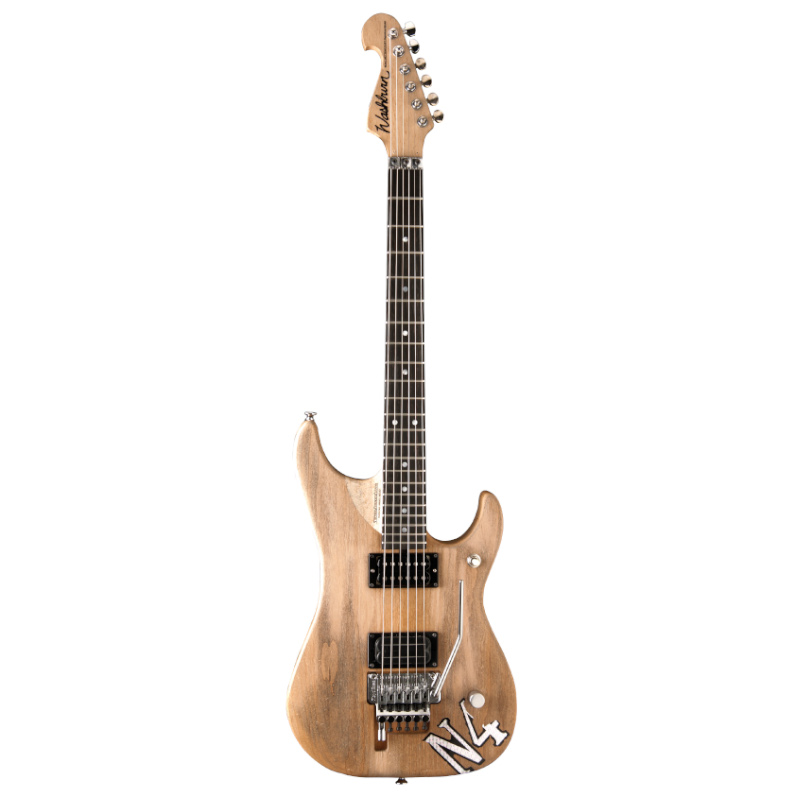 Washburn N4AUTHENTIC-D N Series N4 Nuno Bettencourt Authentic Electric Guitar USA. Distressed Matte