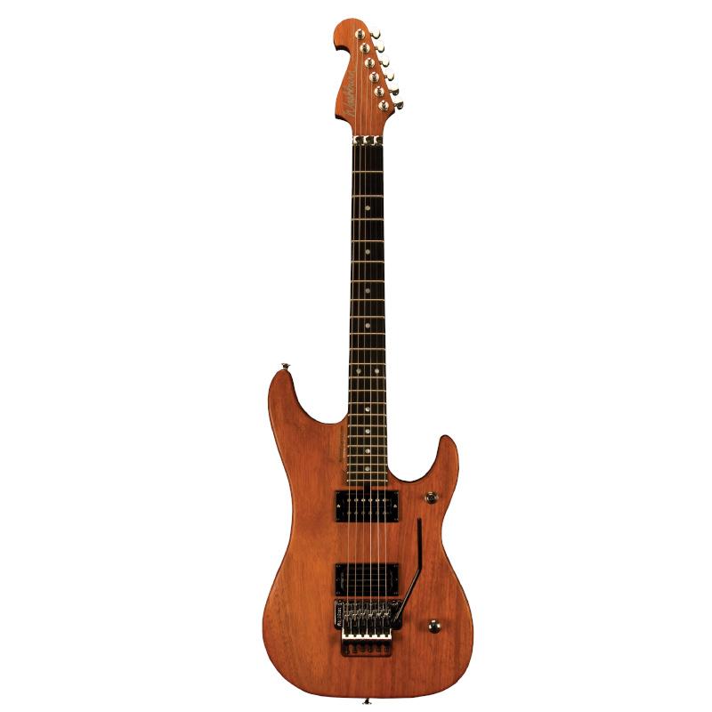 Washburn N4EPNM-D N Series N4 Nuno Bettencourt Padauk Electric Guitar USA. Natural Matte