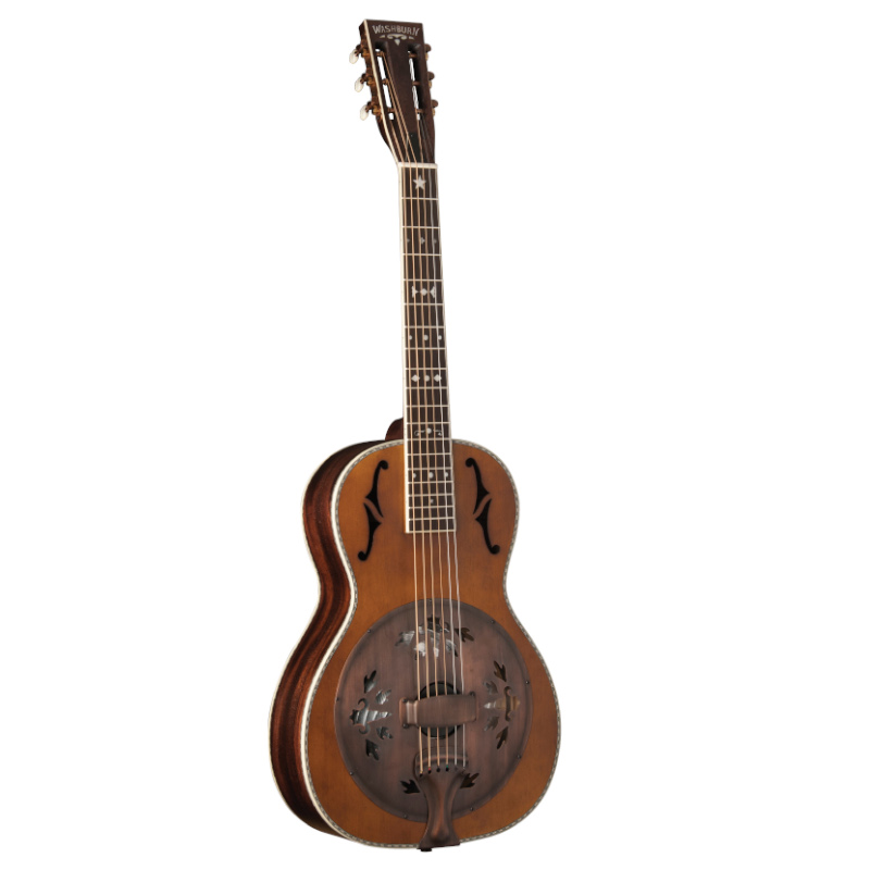 Washburn R360K-R Revival Series Parlor Resonator Guitar