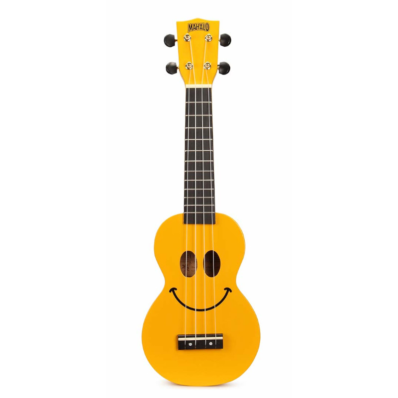 Mahalo U-Smile Series Soprano Ukulele - Yellow